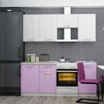 Кухня олимп фиолетовая